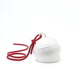 Sovrappensiero Design Studio launches an exclusive limited edition of 200 numbered handmade ceramic buoys.