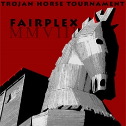 "The LA County Fair is preparing for a competition to ""create a 3-dimensional, modern-day interpretation of the Trojan Horse."" using over 80 years of materials stockpile. 3 teams will be chosen to compete."