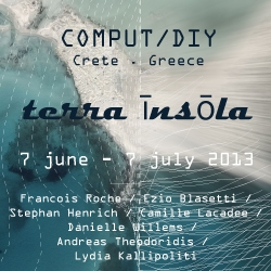 COMPUT/DIY in Crete, Greece this June with Francois Roche / Ezio Blasetti / Stephan Henrich / Camille Lacadee / Danielle Willems / Andreas Theodoridis / Lydia Kallipoliti. Applications for participation now open.