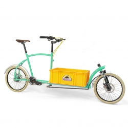 Porterlight Bicycle's new compact cargo bike Bringley is handmade to order in London, and it also has a full online configurator so you can design your own version.