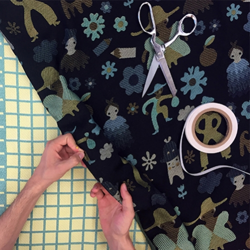 WOVNS is a new online platform, currently in Beta, that allows everyone to turn their digital designs into custom Jacquard-woven fabric, in quantities as small as a single yard.