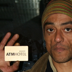ATM Hotel- A five star shelter for a cold Winter