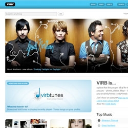 Finally someone listened to the hatred of lousy social networking sites that currently exist. VIRB is a stylish, well built, stable community that has got MySpace on their toes. [Editor's Note: Virb is by the PureVolume guys and gorgeous]