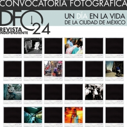 DF:24 an independent magazine based in Mexico City. DF:24 ask you to document your everyday life the day of May, 29th 2009. 1 day, 24 hours, 24 images.