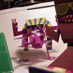 Check out the colorful DIY Tubii papertoys from Bryan Rollins. Ready for download.