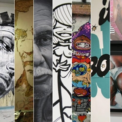 In case you don't know Portugal street art, it's well and alive out there. INSA, DAVID WALKER, VHILS, and many others have done some awesome works in Portugal. Highlights of the Portugal Street Art here.