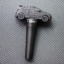 Vauxhall Corsa-shaped working microphone created to promote the Vauxhall UK Beatbox Championships 2010