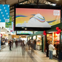 An ad campaign by Ben the Illustrator for Berri, 20 pieces of artwork taking over hundreds of media spaces throughout train stations in Melbourne and Sydney.
