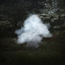 New photos of smoke bombs ignited in the North Italian mountains, taken last weekend by Filippo Minelli.