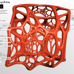 Nervous System has released Cell Cycle, a webGL design app for creating 3d-printable cellular models in your browser.  It's a playful, dynamic physible.