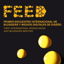 Title sequence design for FEED, the First International Bloggers and Design Media Meeting in Valencia (Spain) during the next Valencia Design Week. Including more than 25 blogs, including NOTCOT!!