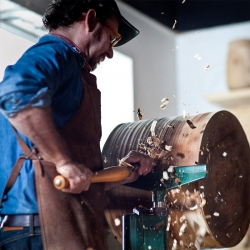 The fourth episode in The Scout's craftsmanship series turns its eye on wood turner and sculptor, Josh Vogel of Blackcreek Mercantile & Trading Co.
