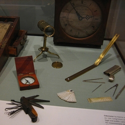 Thomas Jefferson was a gadget guy.  On display at Monticello.