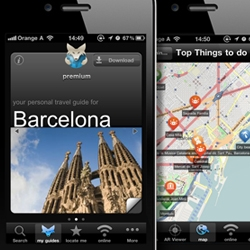 All in-app guides (all destinations) in the tripwolf iphone travel-app are available free for a few days! New version includes Offline Maps, Augmented Reality + content by Footprint & Marco Polo