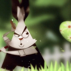 'Legend Of The Golden Egg Warrior' - a stop-motion nunchucking Easter Bunny from Toronto-based Crush. Happy Easter.