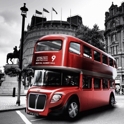 "This amazing bus concept won the second prize in the ""New bus for London Competition"" - Héctor Serrano Studio, MiñarroGarcia and Javier Esteban."