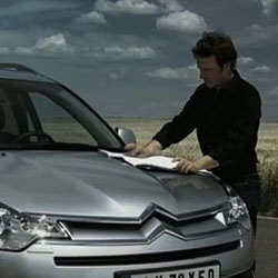 The new Citroën C-Crosser, in this awesome commercial by H-Paris. [Editor's note: great use of a paper map in a time of gps']