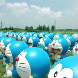 "Doraemon date of birth is on September 3, 2112, means that this year is the start of the hundred year countdown to his birthday! Harbour City (Hong Kong) hosts the ""100 Years Before the Birth of Doraemon"" Exhibition."