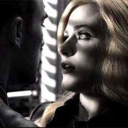 Amazing Gucci advert directed by Frank Miller and starring Evan Rachel Wood and Chris Evans.