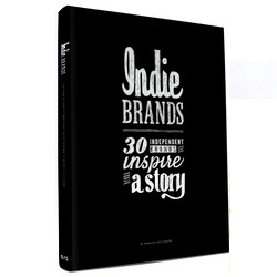 Indie Brand, the latest book by Anneloes van Gaalen, delves into the world of independent brands. With interviews and great photography of brands like Threadless, fritz-kola, WeTransfer and many more.