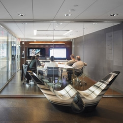 How does an international architecture firm design its flagship workspace? We found out when we took a walk through KPF's sleek Midtown offices.