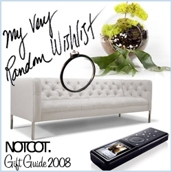 Gift Guide ~ NOTCOT Wishlist ~ aka a rant on gift guides this season and a collage of many random products that i've been craving that haven't made it on my other guides so far!