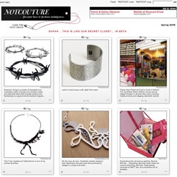 NOTCouture ~ soft launching... fashion/beauty/etc ... take a peek? help us out? its been like our secret closet for the last week or so!