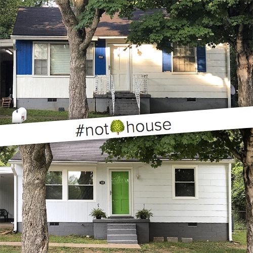 Keep up with the NOTCOT Nashville House Project! It's the latest (biggest?) project we've taken on yet! It's taken the summer to get it going, but i can't wait to share what it will all become! *Hint* that monster yard is full of potential...