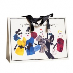 Great Graphic Material for the new collection by Lanvin for H&M.