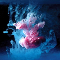 Mark Mawson captures these beautiful shots by dropping paint in water. The colors and the lighting are simply amazing!