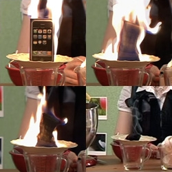 NotVideo! The boys of Out Of Focus Studio made us a pilot in their freetime... complete with flaming iphone!