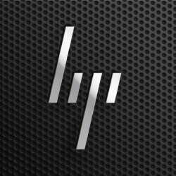 The new visual identity of the minimalist HP by Moving Brands.
