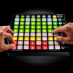 Novation's new LaunchPad hopes to give digital musicians a hands-on connection with Ableton Live software.  Also-- it's beautiful!