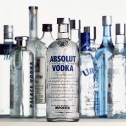 Vodka Packaging vs Absolut - THEN (when they first launched their apothecary like bottle) and NOW. A bit biased, but still pretty and fun to see