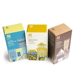 Lovely packaging for the National Trust by Studio H with illustration by Adrian Johnson and Sarah Box.