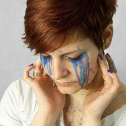 Painted Faces by Michelle Samuels. Cool project. Great shots!
