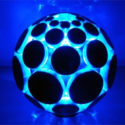 Nu Desine's Alphasphere, a new electronic musical instrument, which reinterprets the way that we interact with sound.