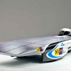 Stuents at Delft University recently revealed the Nuna5, a solar powered race car set to streak across the Australian outback for this year's World Solar Challenge.
