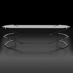 Called the Hexa and made of carbon fiber, this desk by Can Yalman is the most beautiful desk we've seen lately.