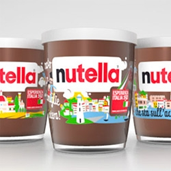 Nutella celebrates the 150th Anniversary of Italian Unity and commissioned ARC'S to create the packaging of their limited edition Esperienza Italia 150.