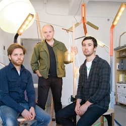 The NYtimes meet some of the city's hot new design talent including this trio, Rich, Brilliant, Willing.