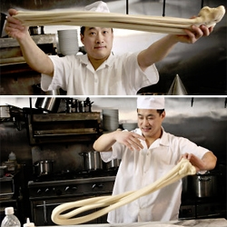 The NYtimes captures noodlemaking in Hung Ry, NoLIta.