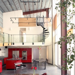 Thomas Small and Joanna Brody's eco-friendly prefab in Culver City.