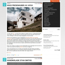 Below The Clouds gets a face lift, search function and English/French/German translations (thanks to Google Translate).
