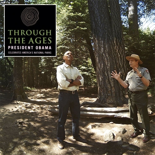Though the Ages: President Obama Celebrates America's National Park's Day at Yosemite and takes you along in VR. Created by National Geographic, Oculus, and Felix and Paul studios