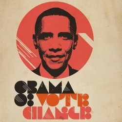 Obama-inspired design and art is popping up all over the place.