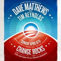 From campaign pins to concert posters - Is there nothing the Obama logo can't do?