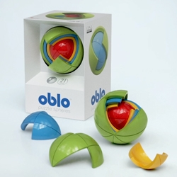 OBLO is the award-winning 3D spherical puzzle that challenges and inspires kids of all ages.