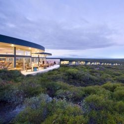 Australian architect Max Pritchard designed the Southern Ocean Lodge, located on Kangaroo Island in South Australia.