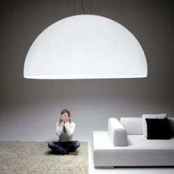 With a diameter of 6 feet (185cm), the Ociu light from Zava certainly makes a statement.
